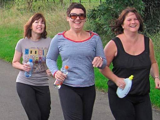 Meer bewegen en gezond eten om te kunnen afvallen